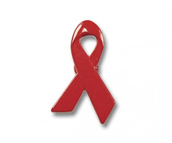 "Ansteckpin ""Red Ribbon"""