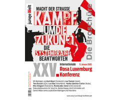 "Broschüre ""XXV. Internationale Rosa-Luxemburg-Konferenz 2020"""