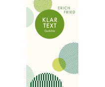 "Erich Fried ""Klartext - Gedichte"""