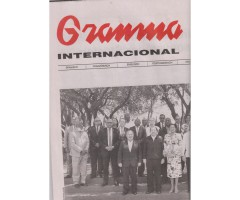 "Zeitung ""Granma Internacional"" (April 2019)"