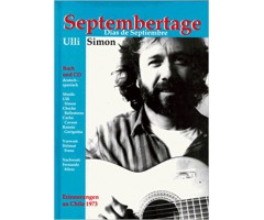 "Ulli Simon ""Septembertage"" (plus CD)"