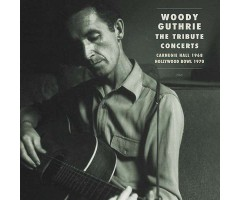 "CD ""Woody Guthrie - The Tribute Concerts"""