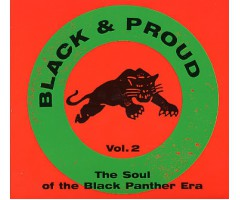 "CD ""Black & Proud Vol. 2"""