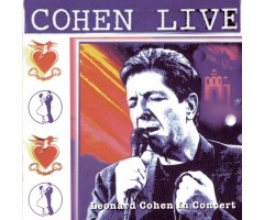 "CD ""Leonard Cohen - Live In Concert """