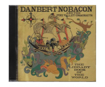 """CD """"Danbert Nobacon and the Pine Valley Cosmonauts - The library book of the world"""""""