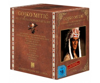 Gojko Mitic – Edition in HD - Abtastung