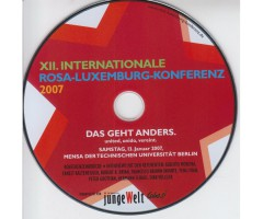 "DVD ""XII. Internationale Rosa-Luxemburg Konferenz 2007"""