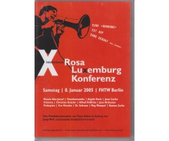 "DVD ""X. Internationale Rosa-Luxemburg-Konferenz 2005"""