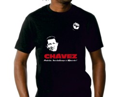 "T-Shirt ""Hugo Chavez"""