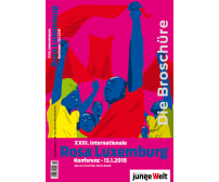 "Broschüre ""XXIII. Internationale Rosa-Luxemburg-Konferenz 2018"""